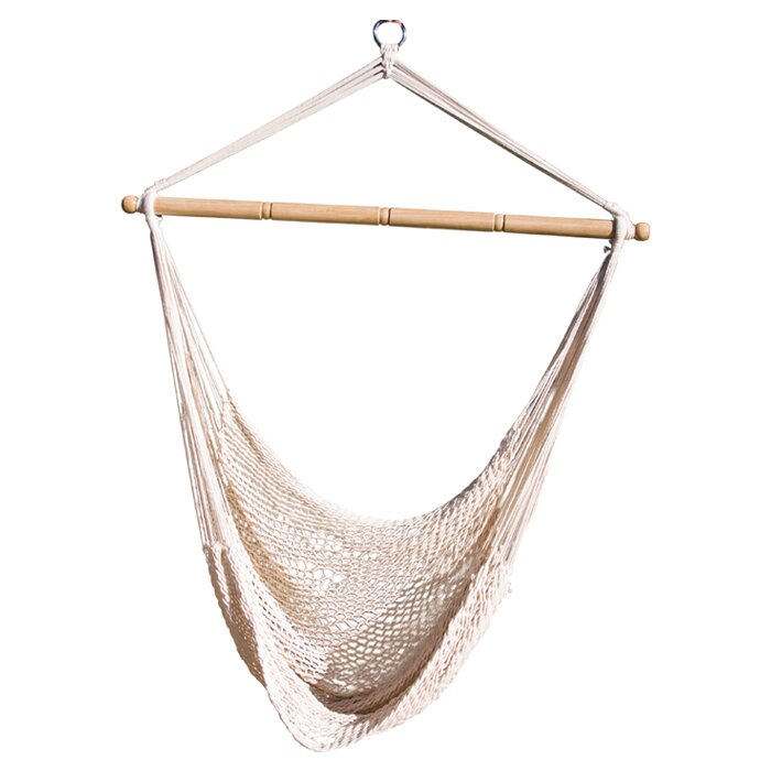 Medium image of crowell rope cotton chair hammock