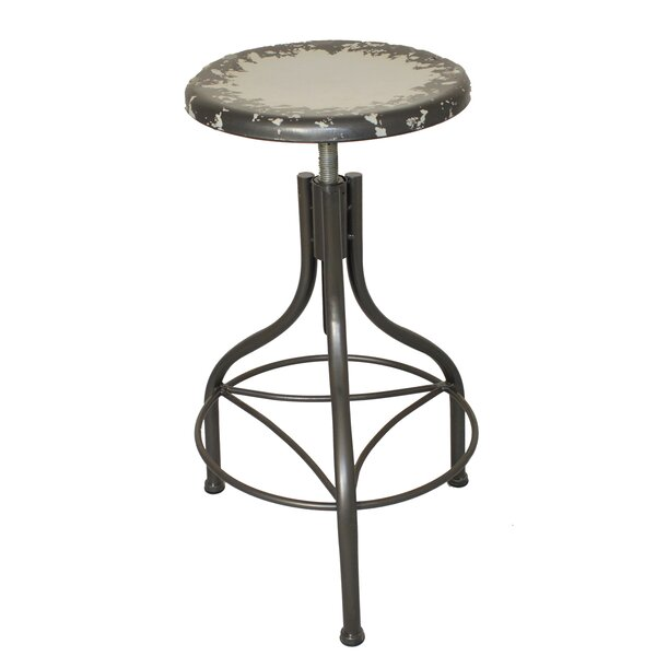 Urban Designs Adjustable Height Bar Stool by EC World Imports