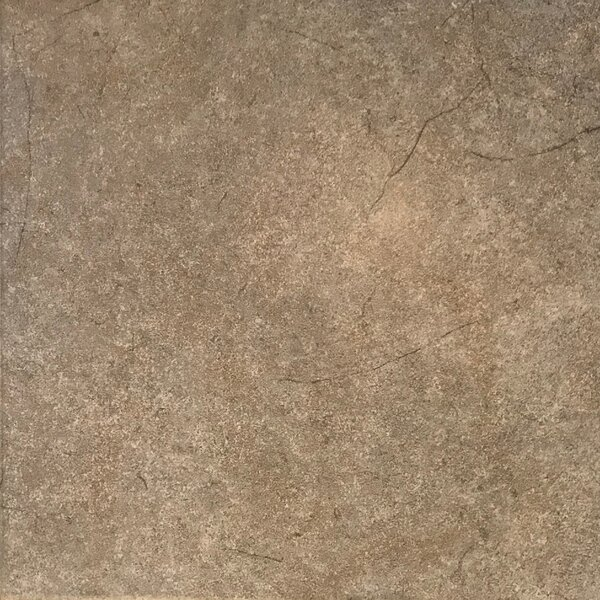 12 x 12 Ceramic Field Tile in Brown by Travis Tile Sales