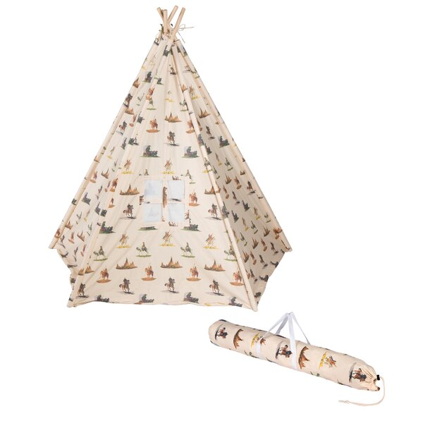 Play Teepee with Carrying Bag by Trademark Innovat
