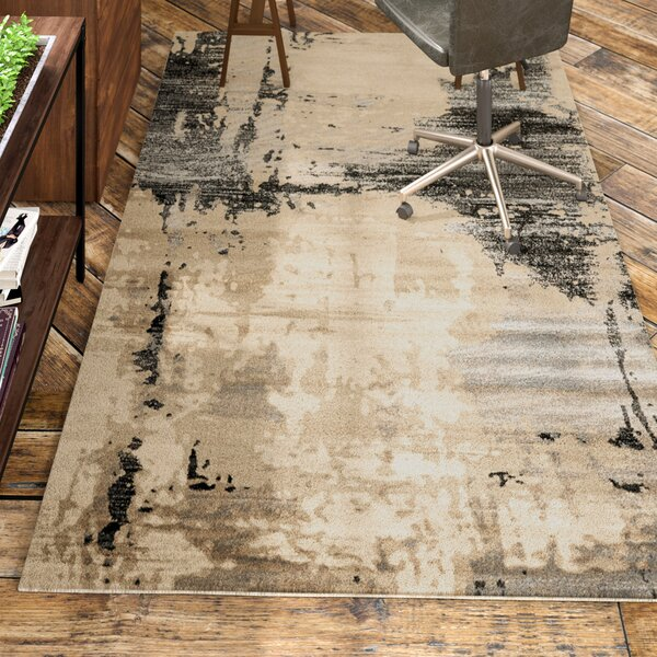 Arden Beige/Black Area Rug by Trent Austin Design