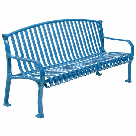 Northgate Metal Park Bench by Leisure Craft