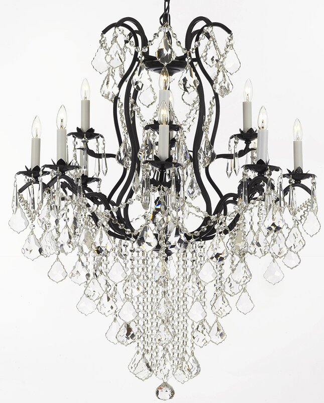 Alvan 12-Light Elegance Crystal Chandelier