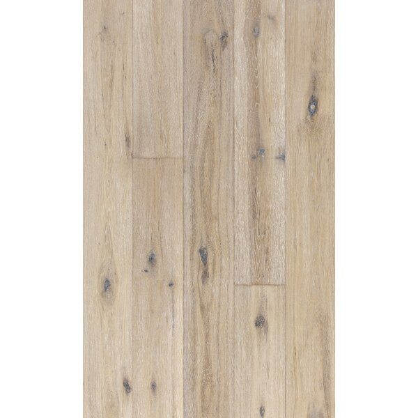 Woodloc Sweden 7-1/2 Engineered Oak Hardwood Flooring in Oyster by Kahrs