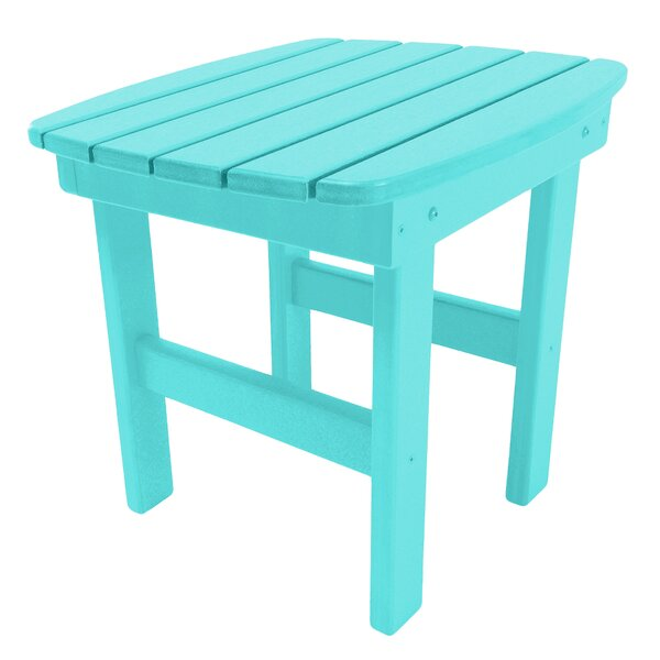 Trang Plastic/Resin Side Table by Highland Dunes