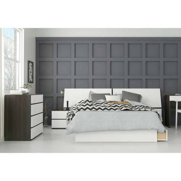 Laymon Platform 4 Piece Bedroom Set by Ebern Designs