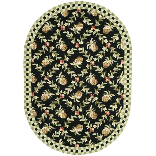 Kinchen Black/Ivory Rug by August Grove