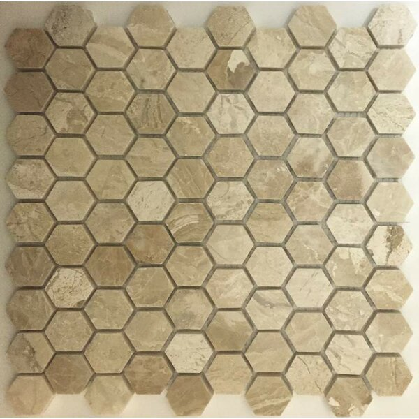 1.25 x 1.25 Mosaic Tile in Diana Royal by Ephesus Stones