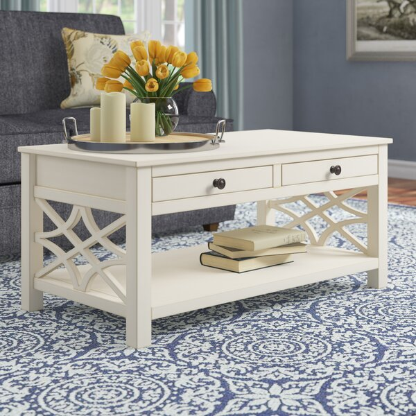 Vicente Coffee Table With Storage By Highland Dunes