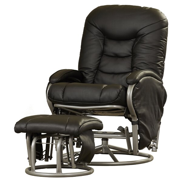 Review Quarles Manual Glider Recliner With Ottoman