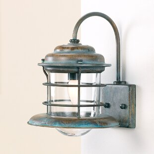 Indoor nautical sconces wayfair nautic caravela 1 light wall sconce by lustrarte lighting mozeypictures Gallery