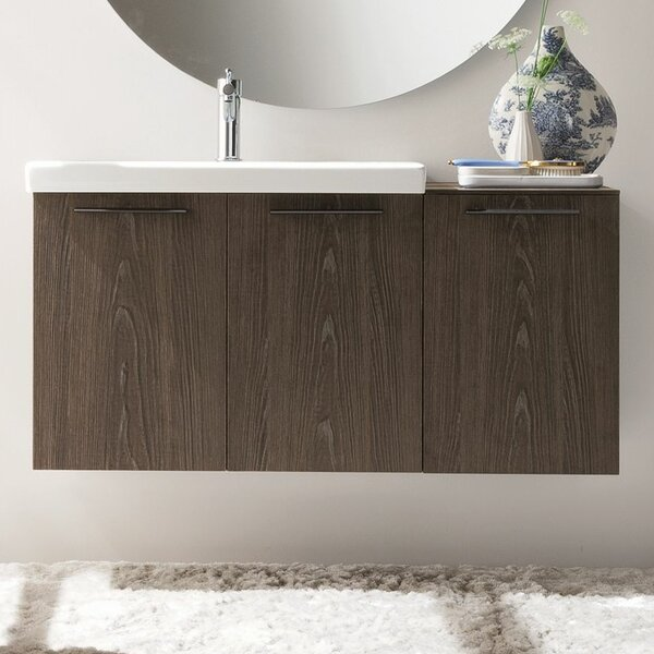 Welcher 42 Single Modern Bathroom Vanity Set by George Oliver