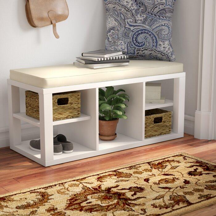 Remarkable Annsville Wood Storage Bench Dailytribune Chair Design For Home Dailytribuneorg