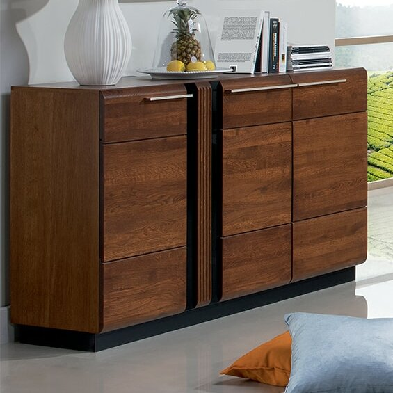Catie Wood Sideboard by Latitude Run