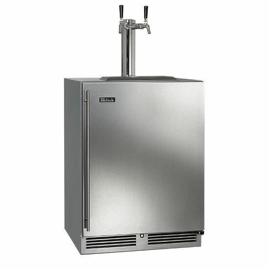 5.2 cu. ft. C-Series Dual Tap Kegerator by Perlick