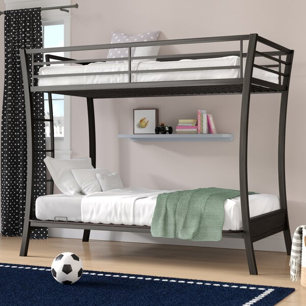 Dixie Twin Futon Bunk Bed by Viv + Rae