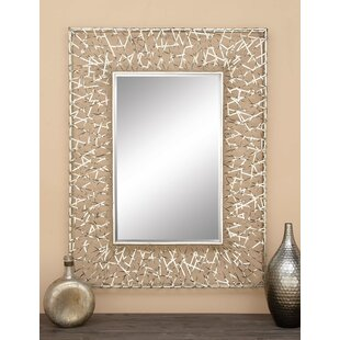 Cole & Grey Metal Wall Mirror