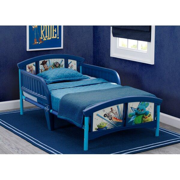 Disney Pixar Toy Story Plastic Toddler Platform Bed by Delta Children