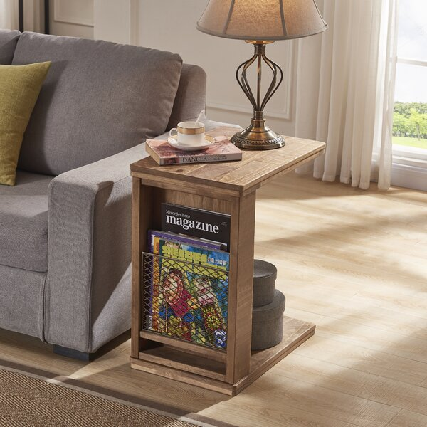 Silloth End Table by Gracie Oaks