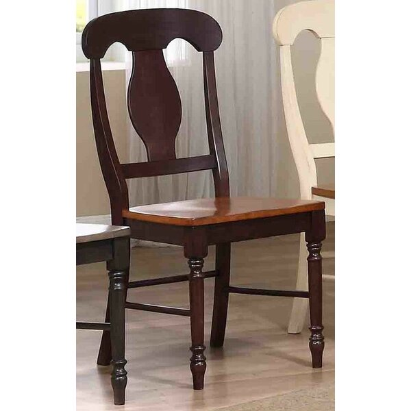 Napoleon Solid Wood Dining Chair (Set of 2) by Iconic Furniture