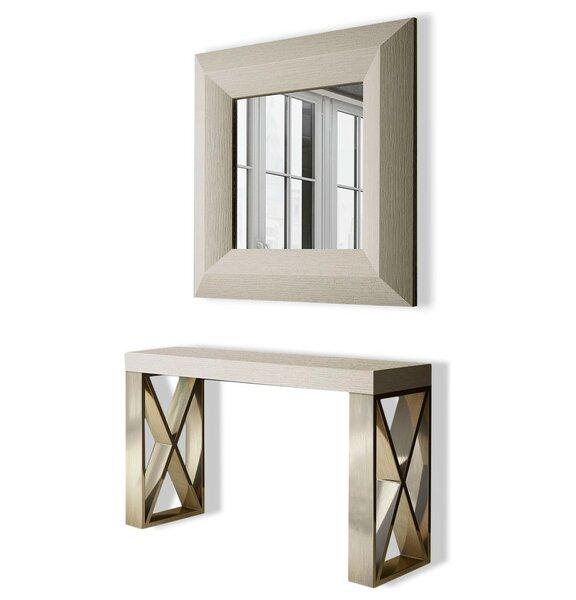 Clemens Console Table and Mirror Set by Brayden Studio Brayden Studio®