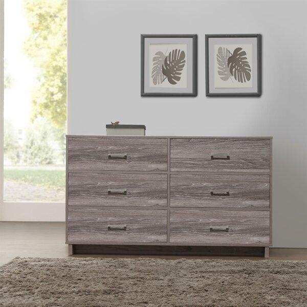 Chicopee Modern 6 Drawer Double Dresser by Zipcode Design
