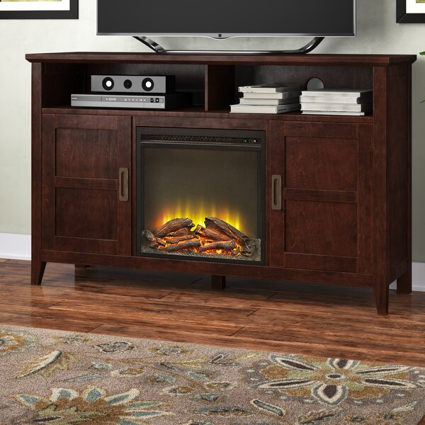 Flintwood 52 TV Stand with Fireplace by Darby Home Co