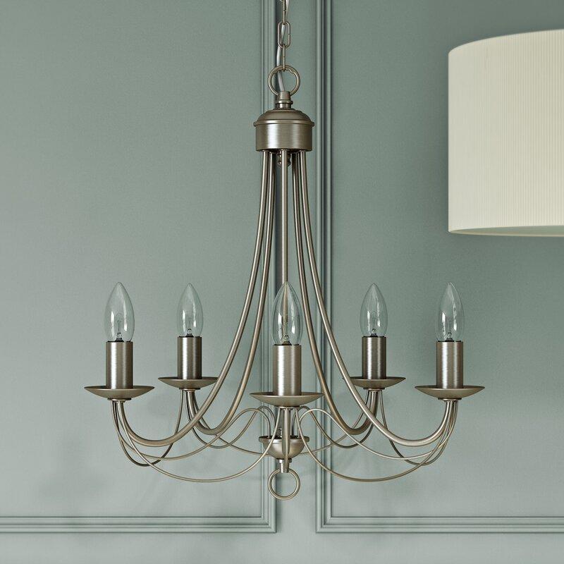 Searchlight maypole 5 light candle style chandelier reviews maypole 5 light candle style chandelier mozeypictures Images