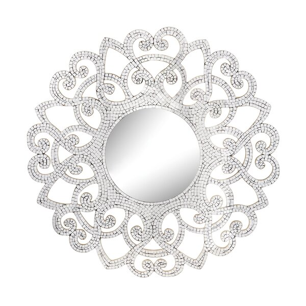 Mosaic Accent Mirror by House of Hampton