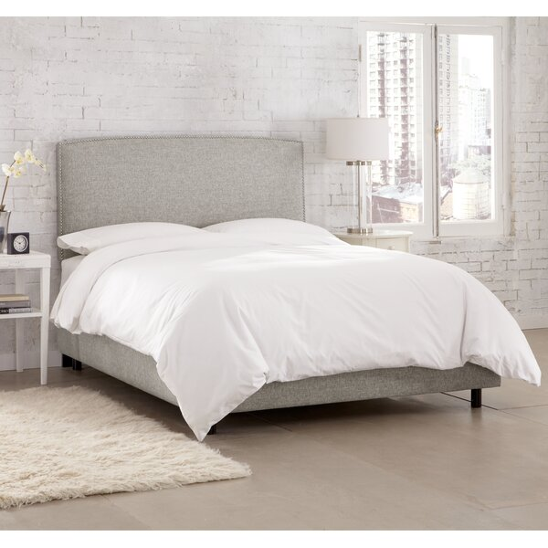 Ingrid Upholstered Standard Bed by Skyline Furniture