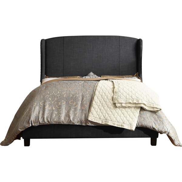 Progreso Upholstered Platform Bed by Greyleigh
