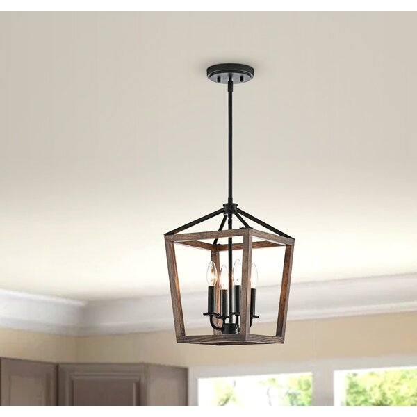 Isola 4 - Light Lantern Square Chandelier by Foundry Select Foundry Select