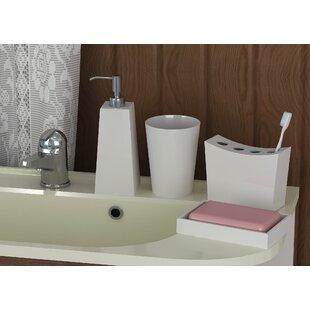 Latoya 4 Piece Bathroom Accessory Set by Corrigan Studio