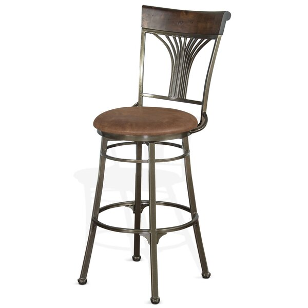 Pompen 30 Swivel Bar Stool by Loon Peak