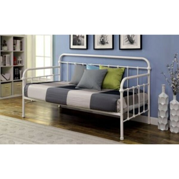 Valliere Powder Coated Platform Twin Daybed by August Grove August Grove