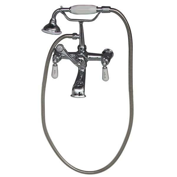 Tub Wall Mounted Filler with Elephant Spout by Barclay