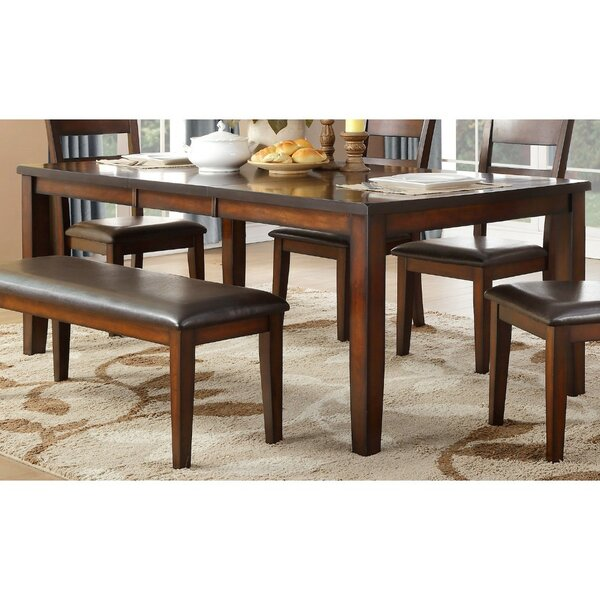 Ignatius Wooden Dining Table by Darby Home Co