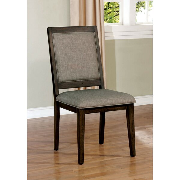 Schafer Transitional Upholstered Dining Chair (Set of 2) by Canora Grey Canora Grey
