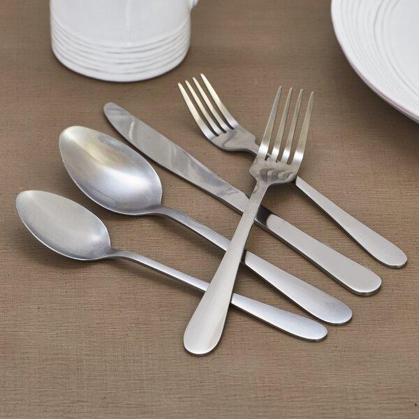 Wayfair Basics 20 Piece Stainless Steel Flatware Set by Wayfair Basics™