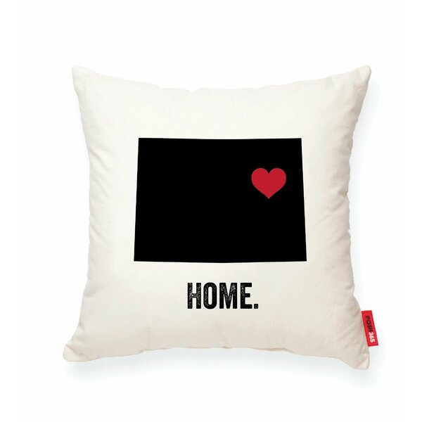 Pettry Colorado Cotton Throw Pillow by Wrought Studio