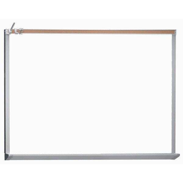 Architectural High Performance Magnetic Wall Mounted Whiteboard by AARCO