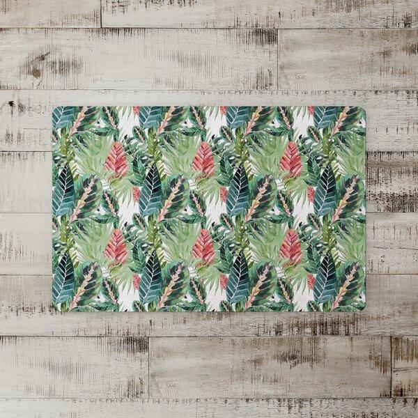 Mackenzie Tropical Palms Kitchen Mat