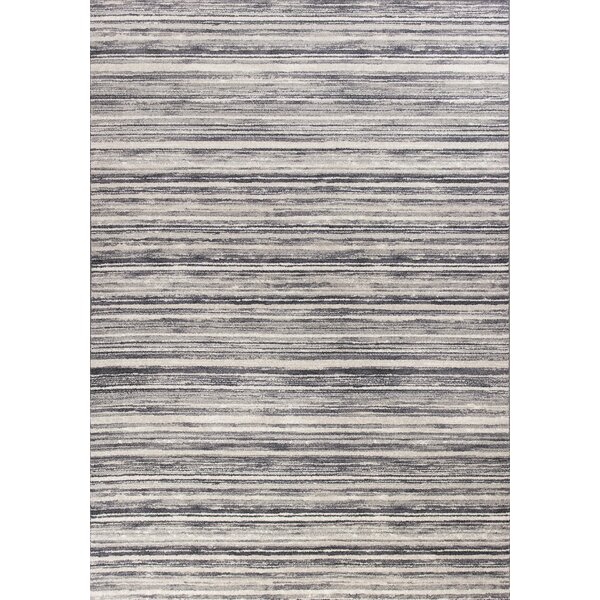 Karla Horizons Gray Area Rug by Zipcode Design