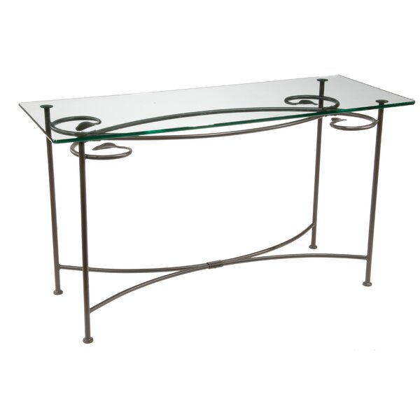 Review Ramona Leaf Console Table
