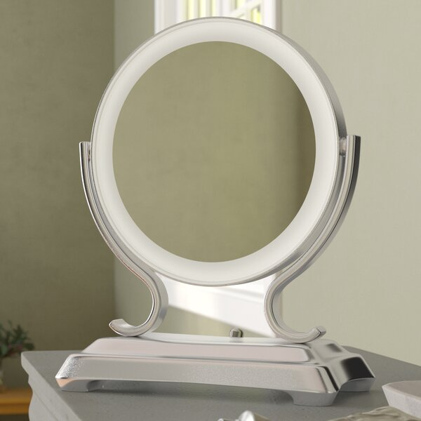 Makeup/Shaving Mirror by Three Posts