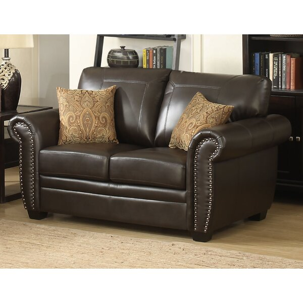 Cheapest Price For Railsback Stationary Loveseat by Red Barrel Studio by Red Barrel Studio