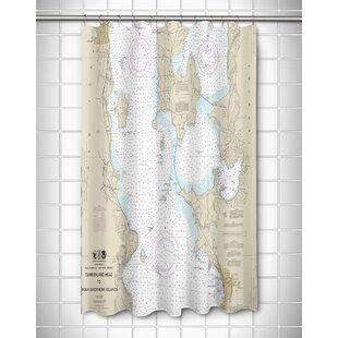 Ellisburg Burlington Vt Shower Curtain