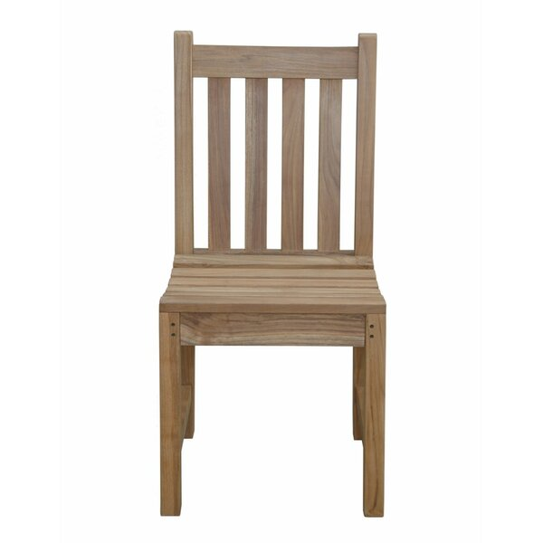 Braxton Teak Patio Dining Chair by Anderson Teak