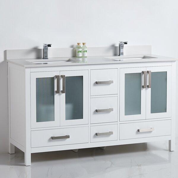 Radele 60 Double Bathroom Vanity Set