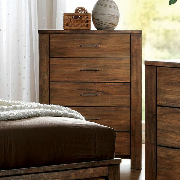 Potvin 5 Drawer Chest by Union Rustic